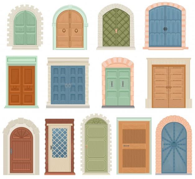 انواع مختلف درب