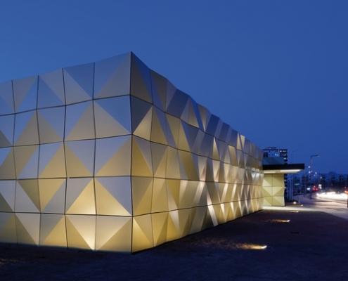 مقاله هوشمند سازی نمای ساختمان
