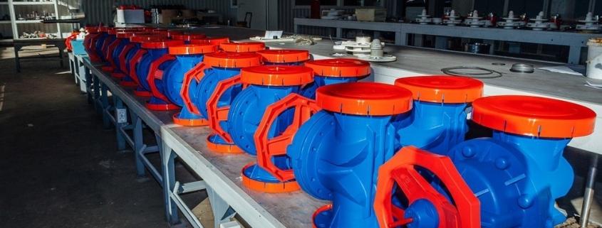 شیر دیافراگمی پس از تولید در کارخانه